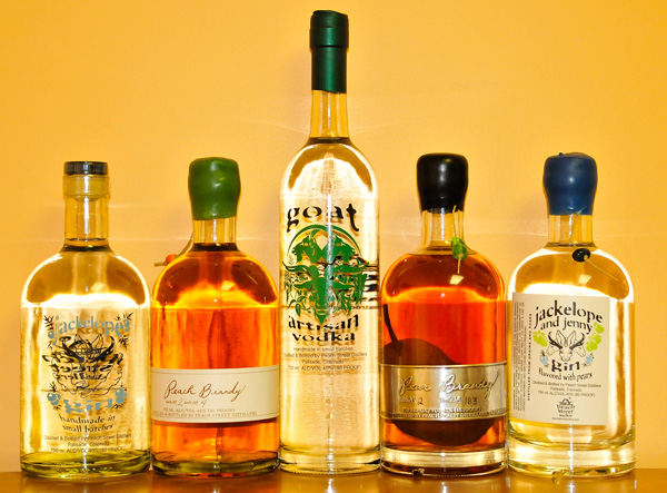 Peach Street Distillers products